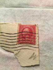 US Postage Stamp George Washington Two Cent 2¢ Red Stamp Rare