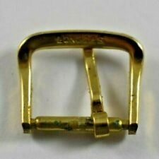 Vintage Longines 12.80mm Gold Tone Wrist Watch Band Buckle lot.z