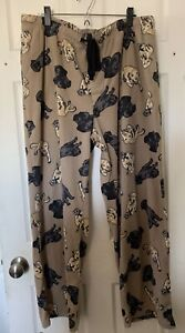 Men's Croft and Barrow XL Lab Dogs Lounge Pajama's Fleece Sleep Pants