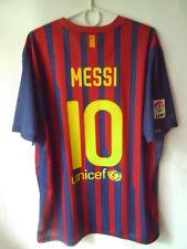 MESSI !!! 2011-12 Barcelona Home Shirt Jersey Trikot XL
