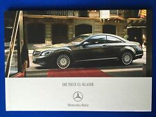 Prospekt Brochure Mercedes CL-Klasse C216 216 CL500 CL600 CL63 CL65 AMG 0607 NEU