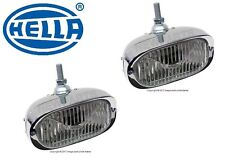 For Porsche 356A 911 Pair Set of 2 Front Left Right Fog Lights-H3 w/ Clear Lens