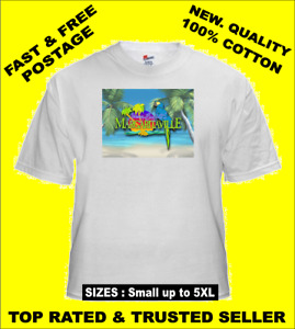Tee Shirt New Adult Unisex Counrty Pop Icon JIMMY BUFFET Margaritaville t shirt