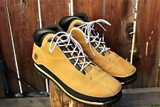 Mens Timberlands Boots Shoes Boots Size 13 Wheat Hiking Trail Work Suede Leather