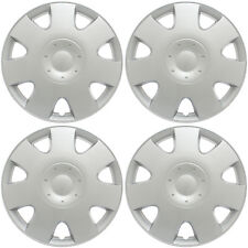 "4PC Set Hub Caps ABS Silver 16"" Inch Fits VW Volkswagen Wheel Covers / Cap Cover"