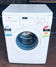Reliable Bosch 6.5kg front load washing machine as new 12M warranty