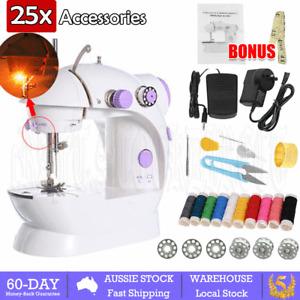Electric Sewing Machine Mini Multi-Function Portable Hand Held Desktop Home DIY