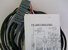 IMPIANTO ELETTRICO ELECTRICAL WIRING VESPA PX ARCOBALENO CON SCHEMA ELETTRICO