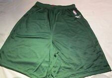 "NBA Reebok Green Shorts XL 100 % Nylon 9"" Inseam"