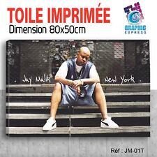 80x50cm - TOILE IMPRIMÉE TABLEAU  POSTER - JESSE MALIK FURIOUS 5 - JM-01-01T