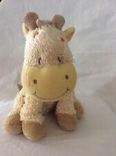 "Koala Baby 11"" Cream/Tan Giraffe W/Orange Spots Plush Stuffed Animal"