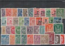 Postfrische Briefmarken aus dem deutschen Reich (1919-1923) als Sammlung