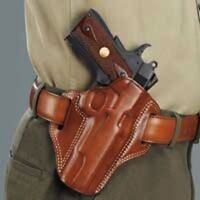 """Galco Combat Master Holster for 1911's 3"""" Right Hand Tan CM424"""