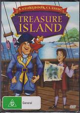 TREASURE ISLAND - ANIMATION - A STORYBOOK CLASSIC - DVD - NEW