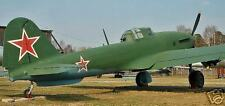 Il-10 Shturmovik Ilyushin Airplane Desk Wood Model Big