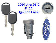 Ford F150 2004 thru 2012 Ignition Lock Cylinder with 2 Transponder Keys F-150