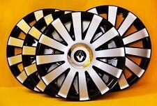 """13"""" Renault Clio, Twingo, Kangoo, Megane... enjoliveurs, Couvertures, Chapeaux de moyeu, quantité 4"""
