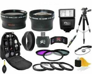 Camera Accessory Kit For Olympus E-620 E-600 E-520 E-510 E-500 E-450 E-420 E-410