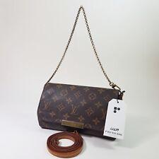 Authentic Louis Vuitton Favorite PM Monogram M40717 Tote Hand Guaranteed LC229