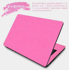 KH Laptop Carbon Leather Sticker Skin Protector for Dell Inspiron 15-5000 5567