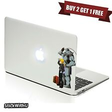 Macbook Air Pro Skin Sticker Decal Fullmetal Alchemist Anime Edward Al bn295
