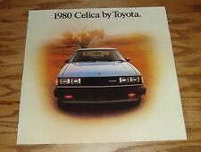 Original 1980 Toyota Celica Deluxe Sales Brochure 80