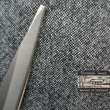 Donegal wool tweed fabric,material ideal for coats,suits 150cm