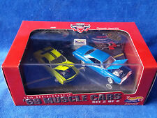 Hot Wheels 30th Anniversary of '69 Muscle Cars 2 Car Boxed Set #2