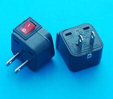 Wonpro Universal UK EU AUS to USA Japan Canada Travel AC Power Plug Adapter New