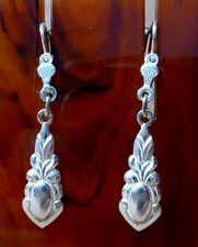 Schöne Ohrringe aus Silber 835, Art Deco um 1920, Restbestand- ungetragen