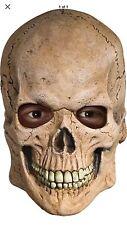Crypt SKULL Skeleton Latex MASK Full Overhead Latex Scary Adult Men's Teen