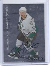 99-00 1999-00 BE A PLAYER MILLENNIUM OLEG TVERDOVSKY AUTOGRAPH AUTO 3 DUCKS