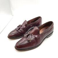Allen Edmonds Grayson Shell Cordovan Dress Tassel Loafer #8297 Men Leather 9.5 D