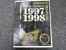 1997 1998 Harley Davidson Dyna Wide Glide Low Motorcycle Service Repair Manual