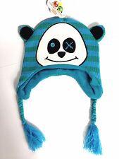 Cartoon Panda Junior Beanie Winter Warm Hat Freak & Friends 8 - 12 YRS A342