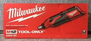 Milwaukee 2460-20 M12 Li-Ion Rotary Tool Cordless 12V (Tool Only)