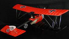 Avión Avión Militar Modelo De Metal Armour WW1 Vintage 1 48 Carousel ROJO