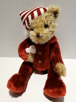 The Bearington Collection Twas the Night Before Christmas Bear Plush w/ MOUSE