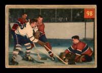 1954 Parkhurst #98 Jacques Plante/Ted Sloan IA G/VG X1611250