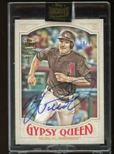 2021 Topps Archives Signature Series A.J. Pollack 2016 Gypsy Queen Auto /17