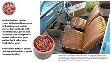 Nobby Stockers hide care leather conditioner with Beeswax Carnauba Lanolin 200ml