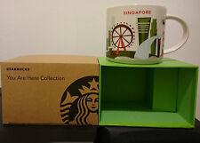You Are Here Starbucks Singapore City Mug + SKU Global Icon Collection RARE