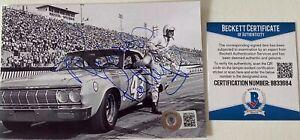 Richard Petty Signed 4x6 Photo Beckett BAS COA NASCAR Daytona 500 Autograph Auto