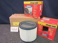 2 Shop Vac Shop-Vac Prolong Cartridge Filter Wet Dry 90340 Type W Replacement
