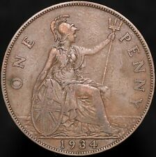 More details for 1934 | george v one penny | bronze | coins | km coins