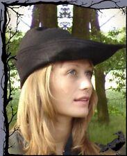 Mittelalter Hut - Robin Hood aus Leder  Leonardo Carbone