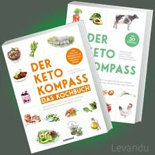DER KETO-KOMPASS (BUCH-SET) | Wissen über ketogene Ernährung + Kochbuch