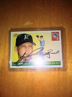 A.J. Burnett 2008 Topps Heritage Signed Autograph Auto Card Blue Jays Yankees