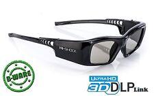 Lunettes 3d Active DLP Pro 7 G Black Diamond DLP-Link pour Projecteur LG Largo Hi-Shock