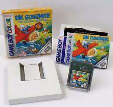Nintendo Game Boy Color GBC - Die Schlümpfe Das Grosse Abenteuer Anleitung + OVP